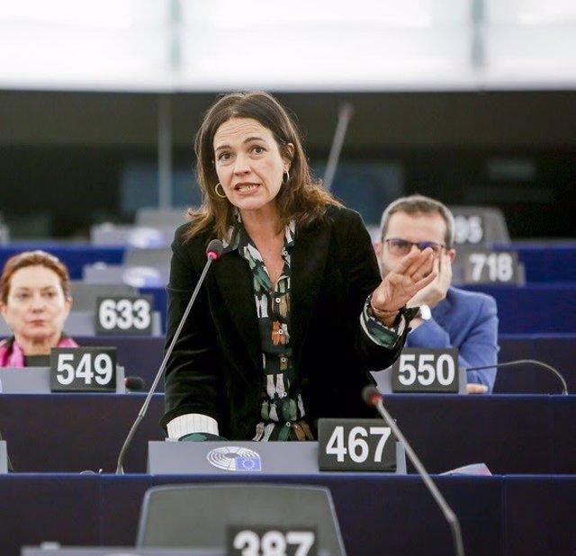 Archivo - La eurodiputada socialista Lina Gálvez.
