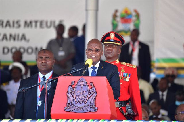 John Magufuli, presidente de Tanzania