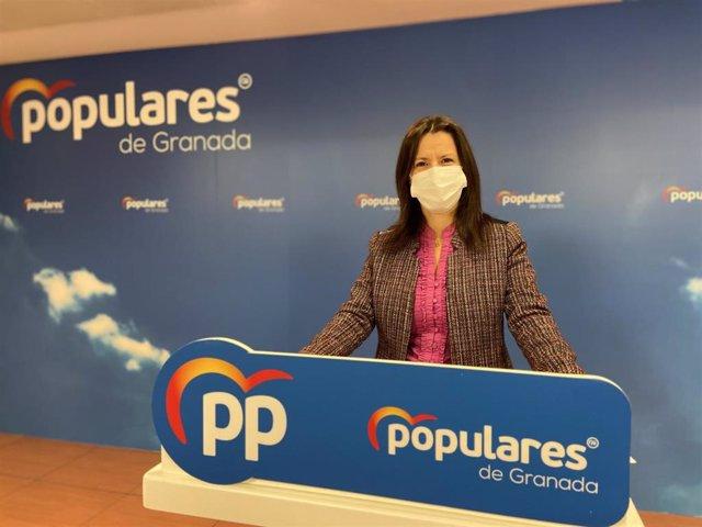 La portavoz del PP de Granada, Ana Vanessa García.