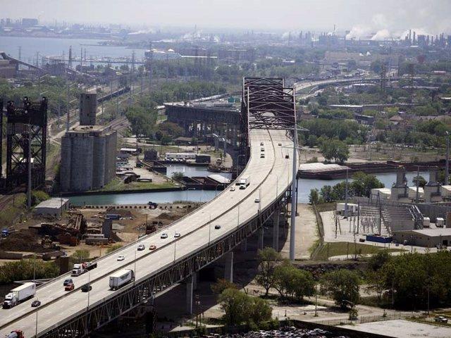 Archivo - Autopista Chicago Skyway de Ferrovial en Estados Unidos