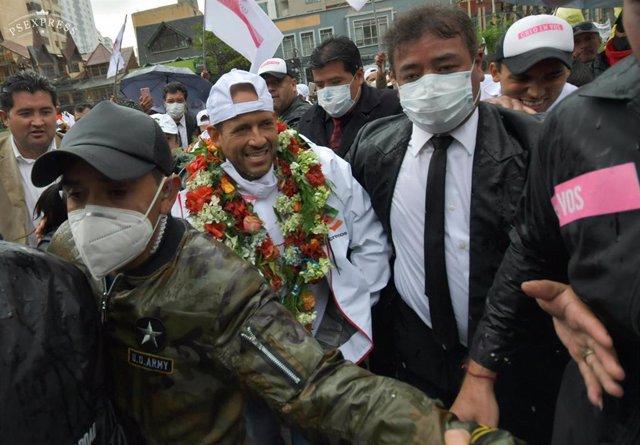 Archivo - Bolivia.- El excandidato presidencial Luis Fernando Camacho, proclamado candidato a gobernador de Santa Cruz