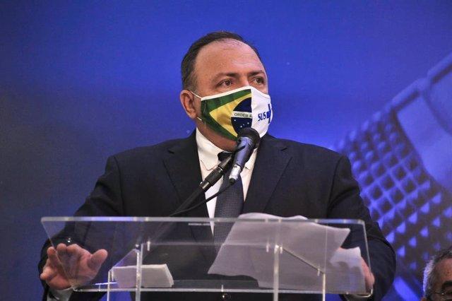 Archivo - El ministro de Salud de Brasil, el general Eduardo Pazuello.