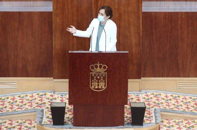 Archivo - La líder regional de Más Madrid, Mónica García