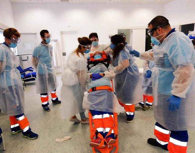 Curso de inmovilización en el Hospital de Jerez