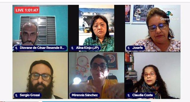 La Universidad Católica de Ávila (UCAV) ha participado, de la mano de la profesora Claudia Costa, en el seminario Diálogos Educativos: 'Reflexiones sobre la pandemia'.