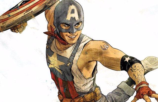 Aaron Fisher, Un Adolescente Homosexual Será El Nuevo Capitán América