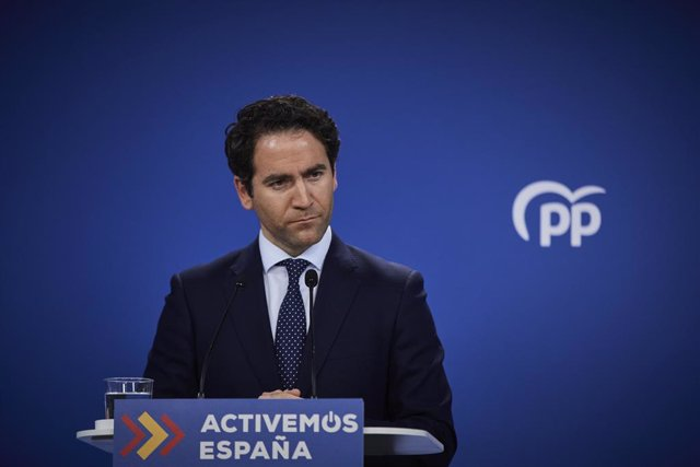 El secretari general del PP, Teodoro García Egea (Arxiu)