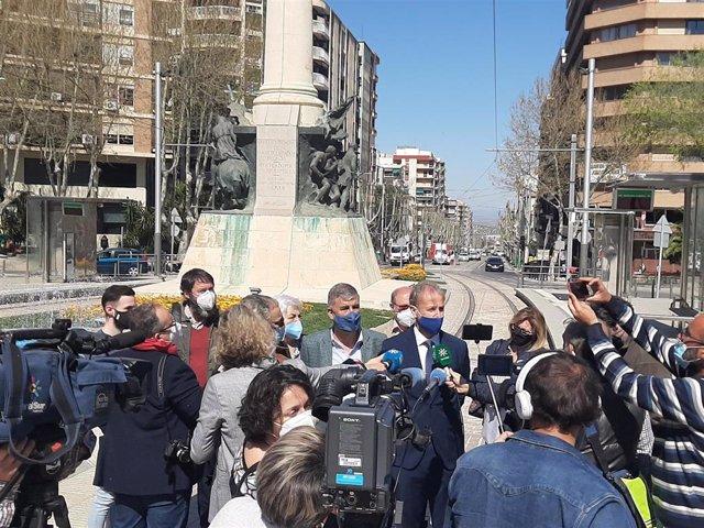 Rueda de prensa para llevar el plan Colce a los tribunales