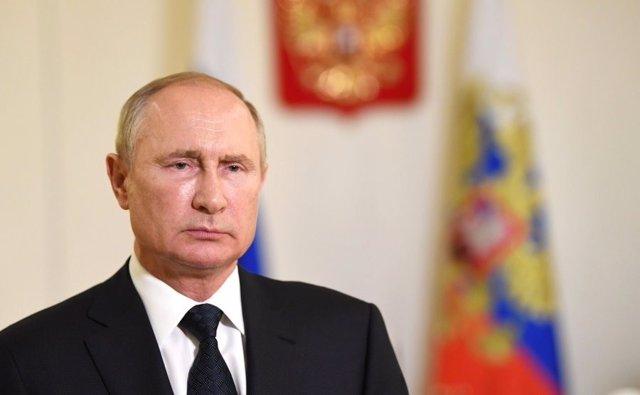 Archivo - Vladimir Putin, presidente de Rusia