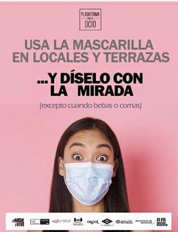Cartel de la campaña 'Díselo con la mirada'