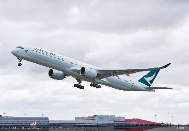 Archivo - Cathay Pacific