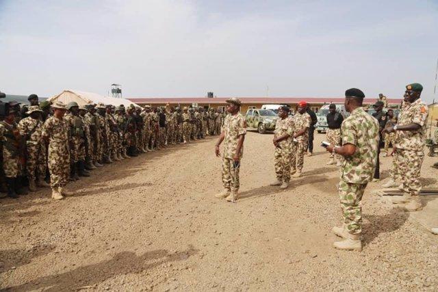 Archivo - Militares del Ejército de Nigeria en el norte del país combatiendo a Boko Haram y Estado Islámico