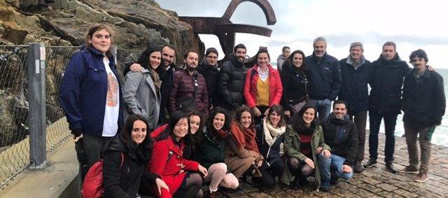 Grupo de investigación del CIBEREHD en el Instituto de Investigación Sanitaria Biodonostia