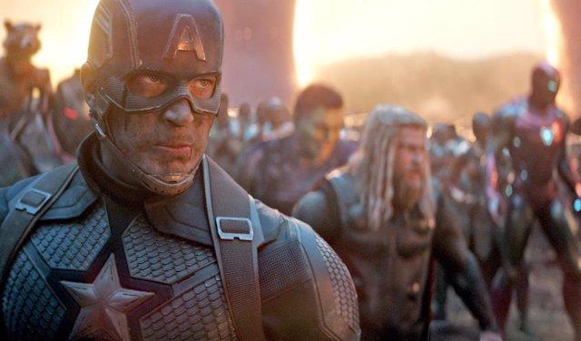 Archivo - Capitán América en Vengadores: Endgame