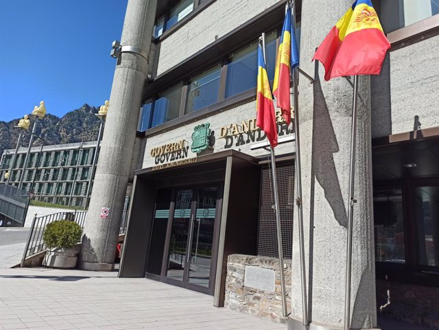 L'edifici administratiu del Govern d'Andorra i el del Consell General