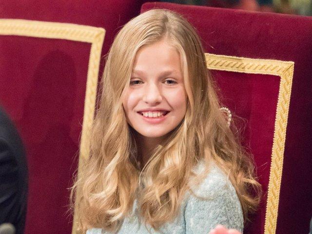 Archivo - La Princesa Leonor, en una imagen de archivo