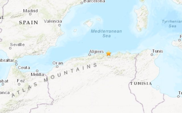 Terremoto en Argelia