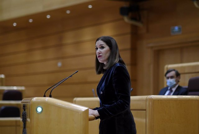 Archivo - La senadora de Cs per Navarra, Ruth Goñi (Arxiu)