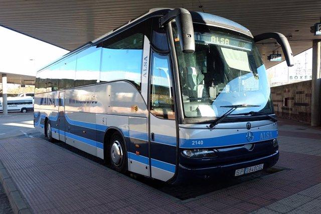 Archivo - Autobús de Alsa