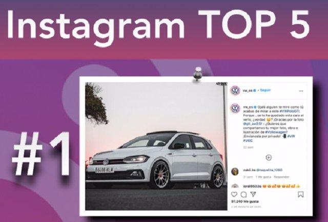 El Polo GTi, el modelo que más triunfó en Instagram en 2020.