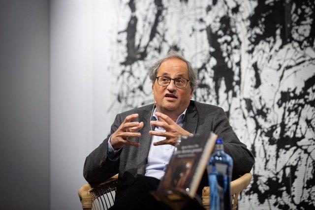 L'expresident català Quim Torra (Arxiu)