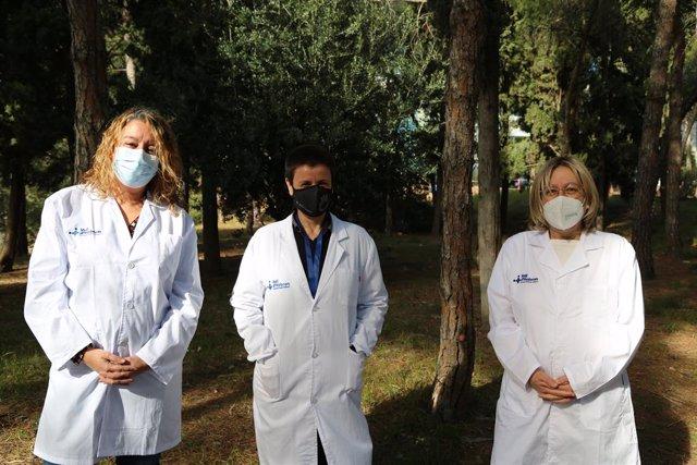 Professionals del Servei de Reumatologia de l'Hospital Vall d'Hebron de Barcelona que han participat en l'estudi FIBROWALK