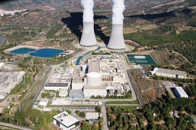 Archivo - Central nuclear de Cofrentes (Valencia)