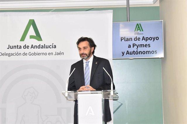Archivo -  El delegado de Empleo, Francisco Joaquín Martínez