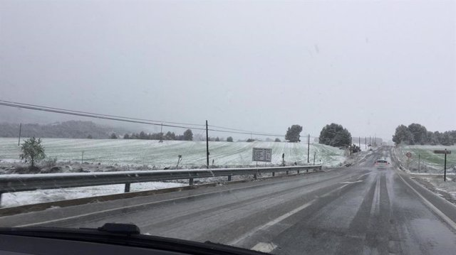 Nieve en Alcoi