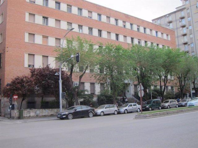 Archivo - Imagen de archivo de uno de los edificios de la Universidad Politécnica de Madrid (UPM)