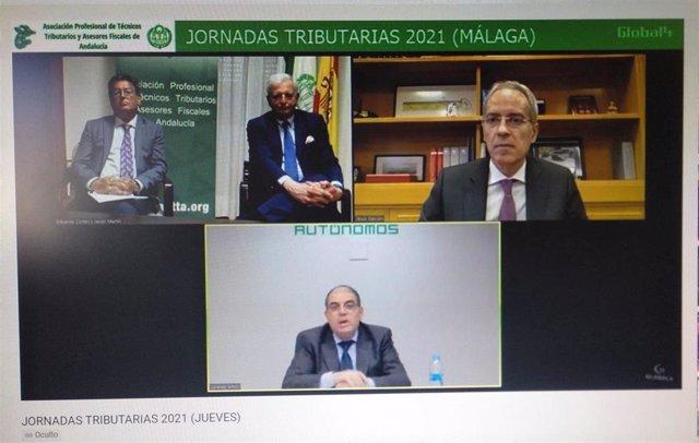 Jornadas Tributarias 2021 de la Asociación Profesional de Técnicos Tributarios y Asesores Fiscales de Andalucía.