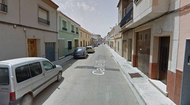 Calle Dulcinea Tomelloso