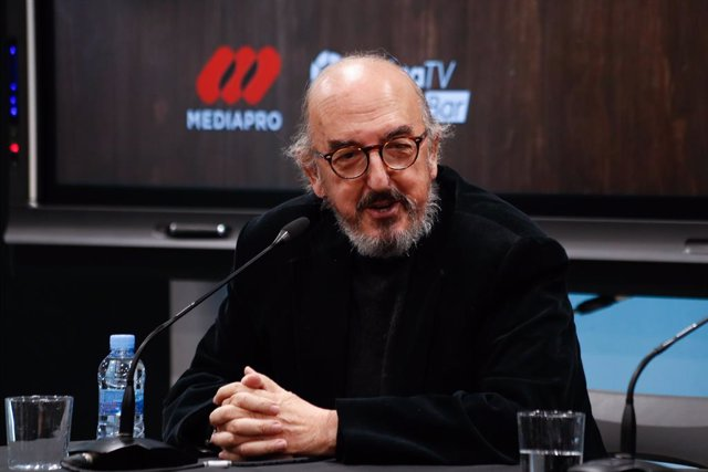 Archivo - Jaume Roures, partner from Mediapro, talks during the presentation of a report on football consumption in bars in Spain at La Liga building on January 22, 2020, in Madrid, Spain.