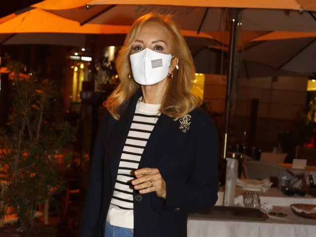 Carmen Lomana, tan estilosa como de costumbre