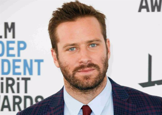 Armie Hammer at the 34th Film Independent Spirit Awards on February 23, 2019 in Los Angeles, California