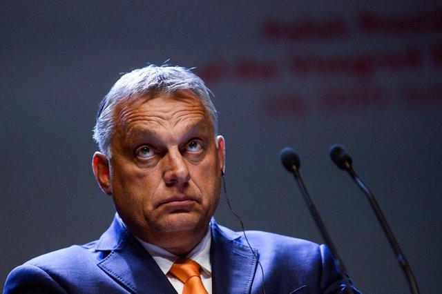 Archivo - Viktor Orban, primer ministro de Hungría