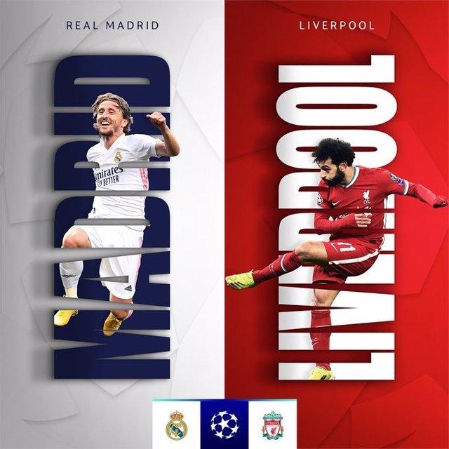 Reial Madrid-Liverpool, quarts de final de la Lliga de Campions