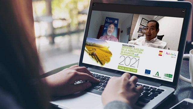 Foto Y Nota De Prensa: Extenda Impulsa A La Industria Auxiliar De La Agricultura En Ecuador, Un Mercado Que Presenta Perspectivas De Crecimiento Del 6,3% En 2021. Seis Empresas Almerienses