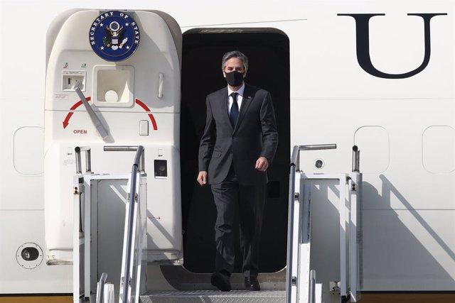 Visita de Antony Blinken, secretario de Estado de EEUU, a Corea del Sur