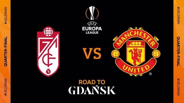 Granada CF contra Manchester United, en els quarts de final de la Lliga Europa 2020/21