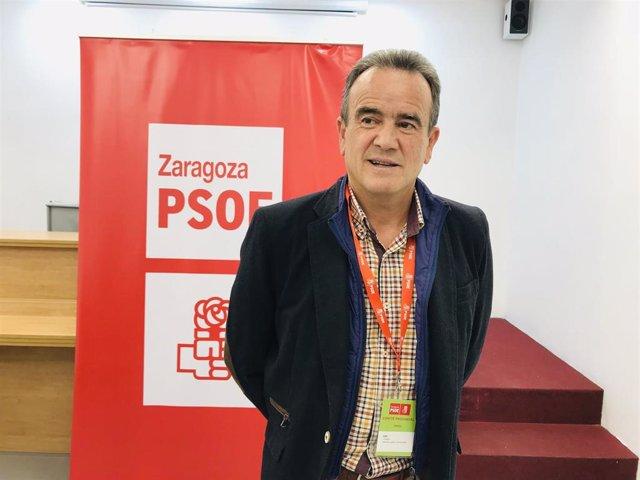 Archivo - El secretario general del PSOE de Zaragoza, Juan Antonio Sánchez Quero.