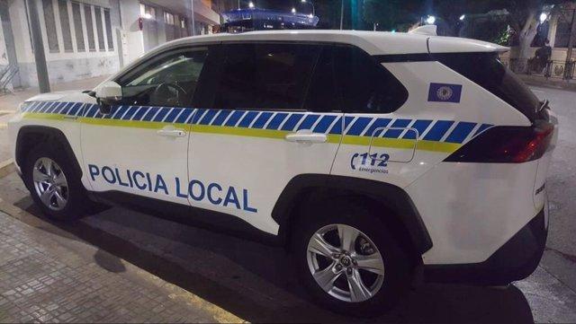 Vehículo de la Policía Local de Melilla