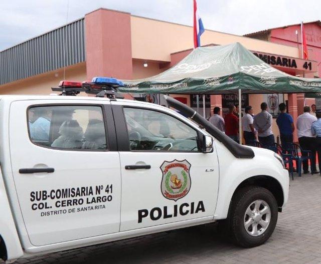 Archivo - Policia del Paraguai (Arxiu)