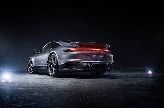 Archivo - Logo de Porsche.