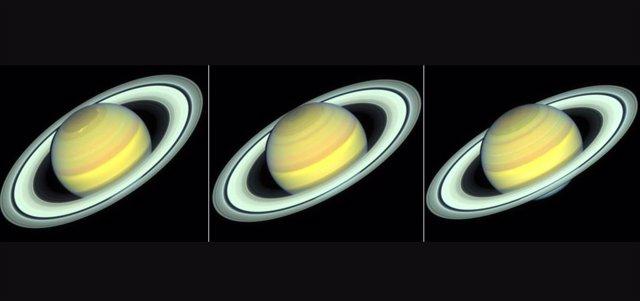 Cambios estacionales en Saturno