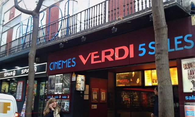 Cinemes Verdi a Barcelona
