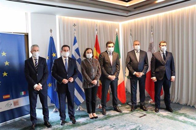 España, Italia, Grecia, Chipre y Malta han emitido una declaración conjunta a la Unión Europea (UE) en la que reclaman un reparto más equitativo de la responsabilidad en materia migratoria.