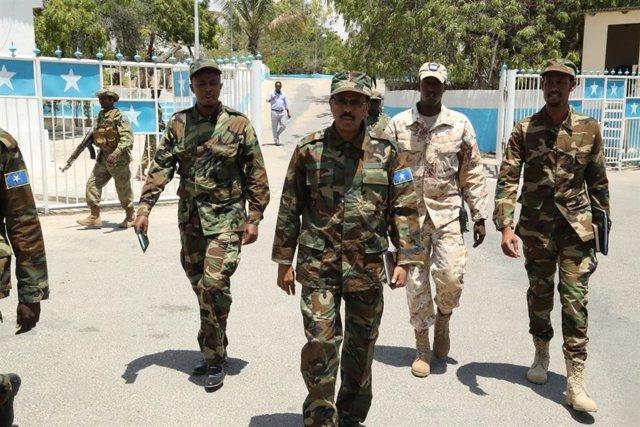 """Archivo - El presidente de Somalia, Mohamed Abdullahi """"Farmajo"""""""