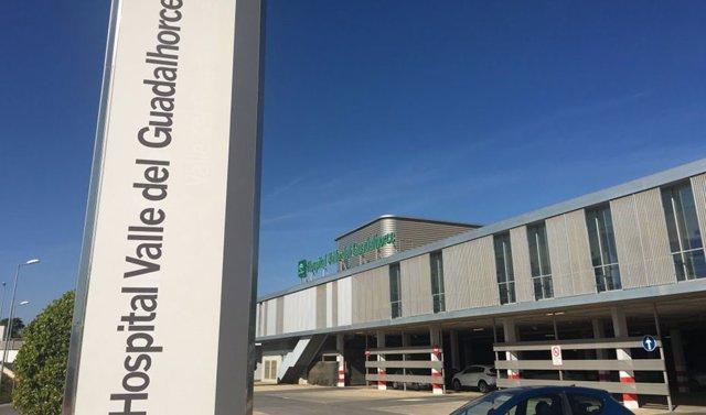 Archivo - Acceso al hospital Valle del Guadalhorce
