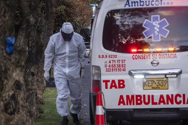 Sanitario durante el mes de enero cuando la capacidad de los hospitales en la ciudad de Bogotá estaba al límite.